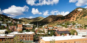 A view from above in Downtown Bisbee.  Photo from City of Bisbee