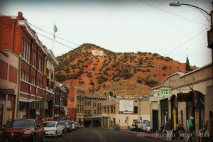 The City of Bisbee has evolved into an artist's downtown, full of galleries, shops, bookstores and local restaurants.  Photo from City of Bisbee