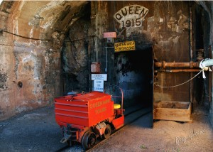 Many visit Bisbee for the Copper Queen Mine Tour.  Photo from City of Bisbee