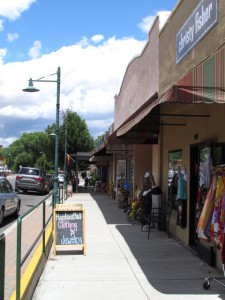 Downtown Cottonwood draws success from the local businesses.