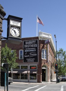 Downtown Flagstaff boasts historic 1890s streets, buildings and a hotel.  Photo from the City of Flagstaff