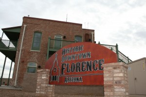 Historic Downtown Florence.  Photo from the Town of Florence