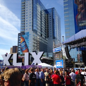 Phoenix has become a destination for popular events. Most recently, the downtown Phoenix area served as the main hub for the 2015 Super Bowl, hosting an array of events, concerts, and activities related to the big game. Photo from City of Phoenix.