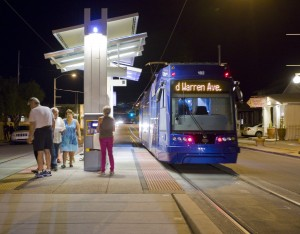 The Tucson Sunlink Streetcar.  Photo from the City of Tucson