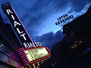 The Rialto Theater is a mainstay of the Downtown Tucson area.  Photo from the City of Tucson