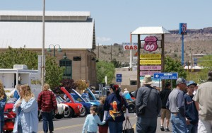 Kingman hosted the International Route 66 Festival in 2014.  Photo from the City of Kingman.