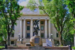 Yavapai County Courthouse in Downtown Prescott.  Photo from the City of Prescott.