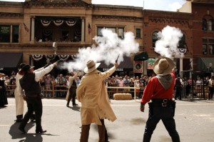 The Wild West will always be part of Downtown Prescott.  Photo from the City of Prescott