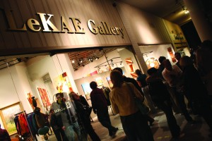 The LeKae Gallery in Downtown Scottsdale.  Photo Courtesy of Scottsdale Convention & Visitors Bureau.