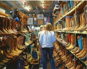 Ben's saddlery  Photo from the Town of Wickenburg.