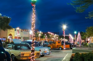 The holidays light up Downtown Yuma.  Photo from the City of Yuma